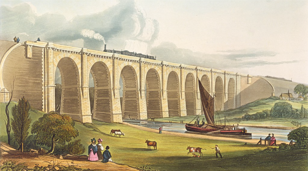 The Sankey Viaduct